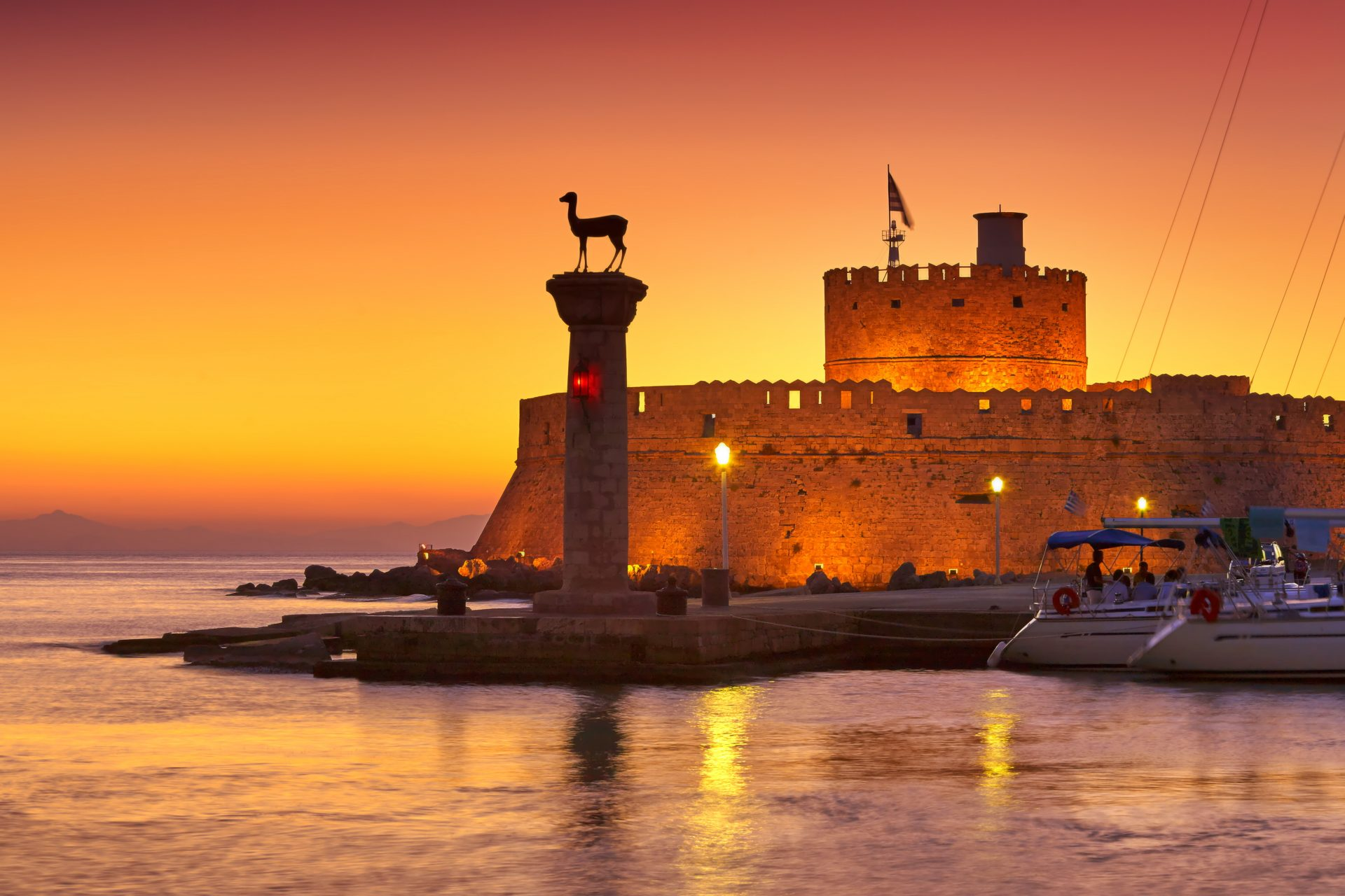 Sunset in Rhodes | Rhodes Island | Manos Going