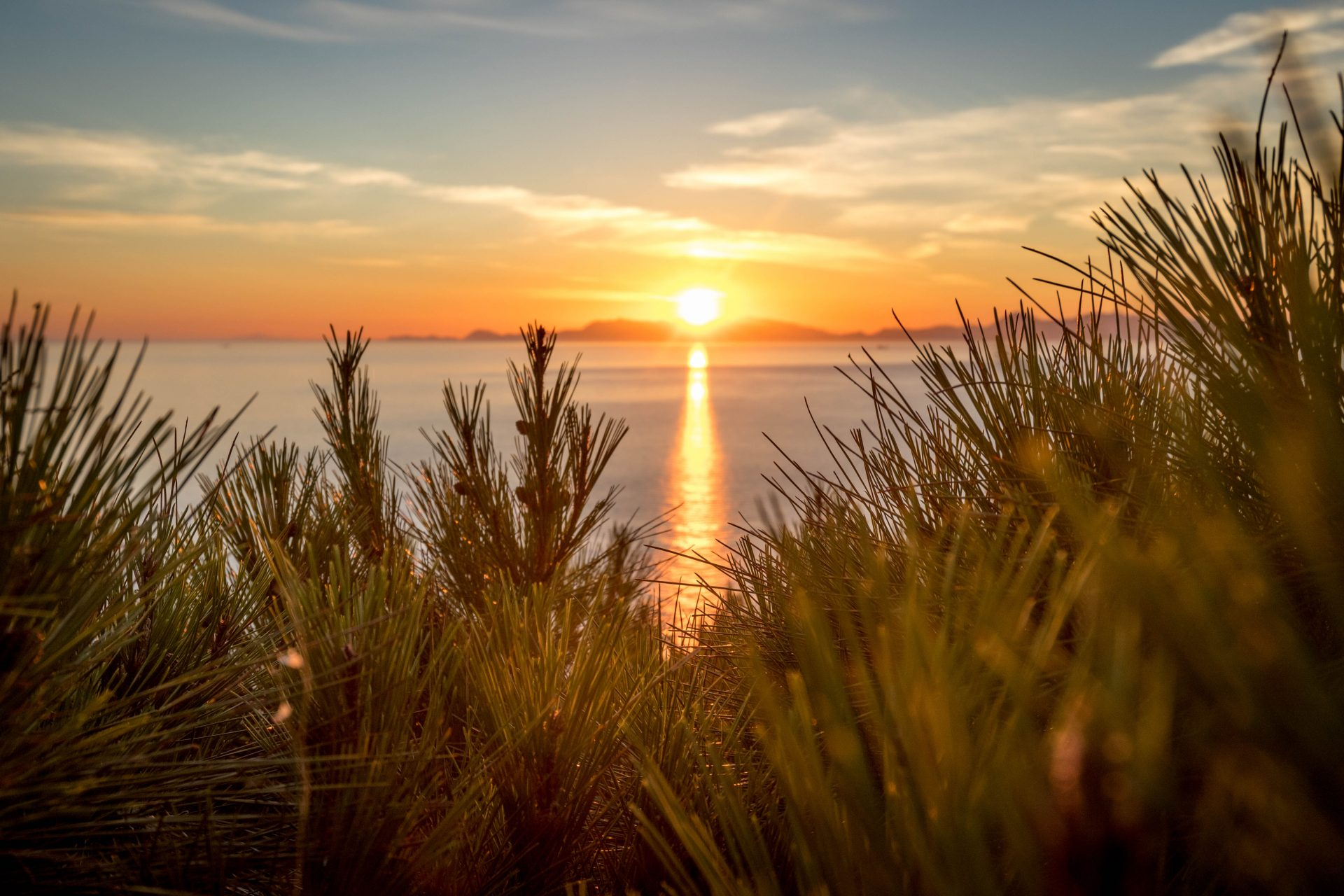 Sunset Mount Smith | Rhodes Island | Manos Going